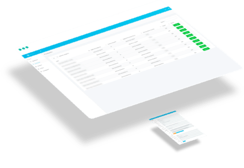 Webapplicatie interface