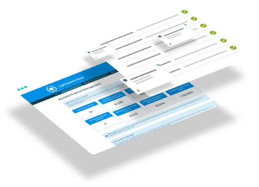 Webapplicatie schermen